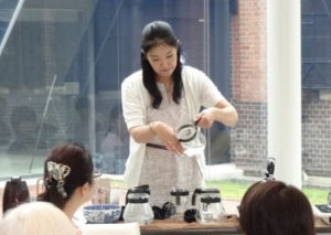 石川県立歴史博物館にて 紅茶教室 セミナー